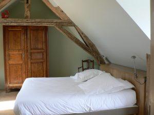 chambre etage vue sur jardin 3 personnes lit enfant